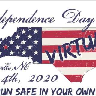 VIRTUAL: Asheville Independence Day 5k - Run Safe in your Space