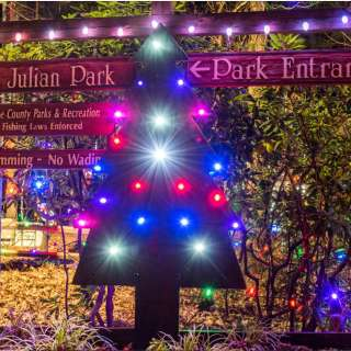 Festival of Lights at Lake Julian