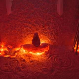 Qigog in Salt Cave at The Salt Spa of Asheville & Himalayan Salt Cave