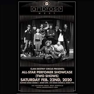 Clan Destiny Circus- Performer Showcase EVE SHOW