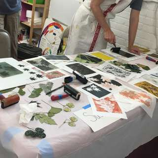 Nature Printing with Encaustic ENCORE CLASS, with Bridget Benton