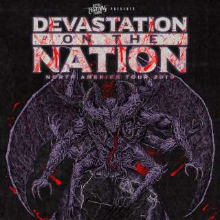 Devastation On The Nation – North America Tour 2019