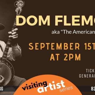 Visiting Artist Series: Dom Flemons