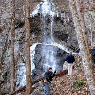 Waterfall Hike at Grove Stone Quarry