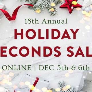 VIRTUAL: The Guild's Holiday Seconds Sale