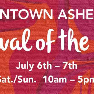 Downtown Asheville 4th of July Weekend Festival of the Arts