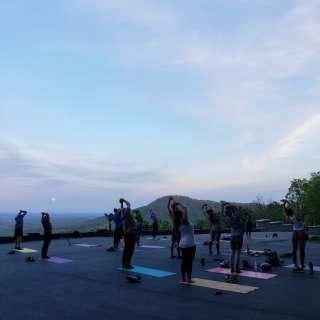 "Full Moon Series: Yoga under the Full ""Corn"" Moon"