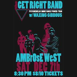 Get Right Band with Waxing Gibbous