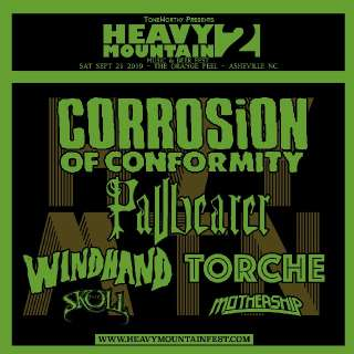 Heavy Mountain II - Corrosion Of Conformity, Pallbearer, Windhand, Torche, The Skull, Mothership