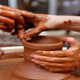 Valentine's Day Pottery for Couples