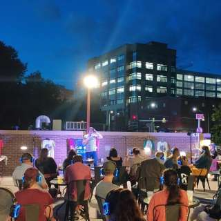 Sunset Rooftop Standup Comedy Show in Downtown Asheville