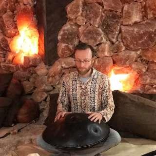 Handpan Concert inside the Salt Cave