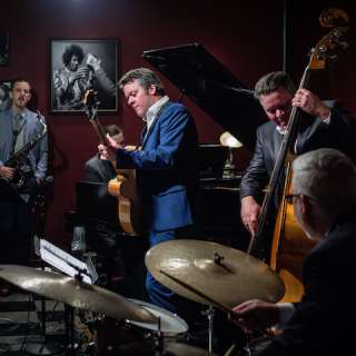 Shades of Blue: The Page Brothers Quartet