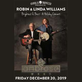"""""""Brightest and Best – A Holiday Concert"""" with ROBIN & LINDA WILLIAMS"""