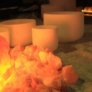 Reiki Sound Healing insdie the Salt Cave