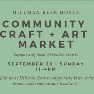 Community Craft + Art Market