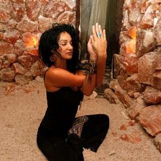 Yoga Nidra inside the Salt Cave