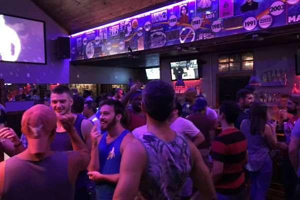 Houston gay scene