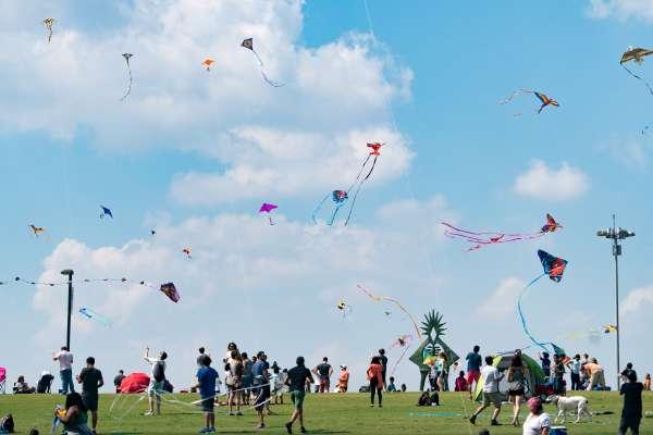 Hermann Park Conservancy's 6th Annual Kite Festival