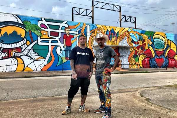 Arte Sin Fronteras: The Evolution of a Houston Graffiti Artist