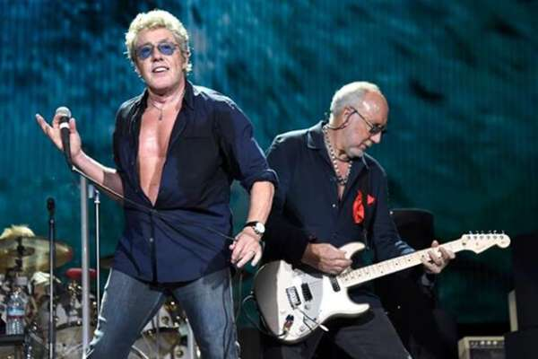 The Who Moving On! Tour
