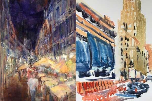 Art Exhibition - Big City
