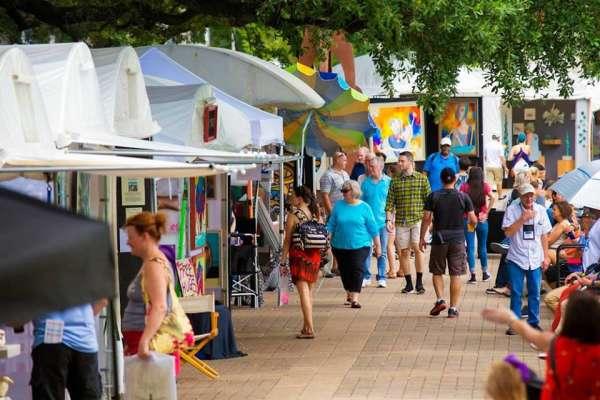 2019 Bayou City Art Festival Downtown