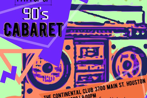 PMT Pop Up: 90s Cabaret