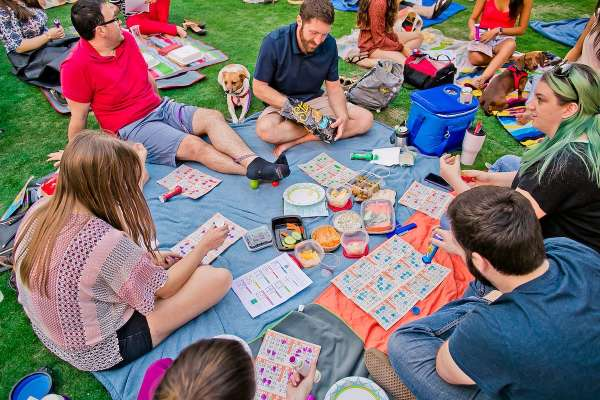 Blanket Bingo at Market Square Park