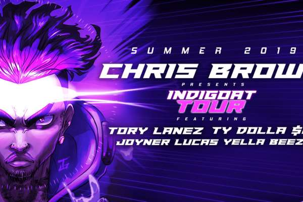 Chris Brown: Indigoat Tour 2019