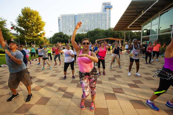 Zumba Strong at Discovery Green