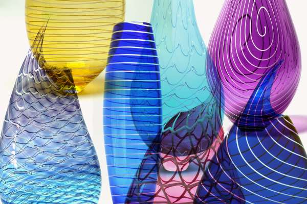 Glass Art by Three Dimensional Visions Glass Blowing Houston