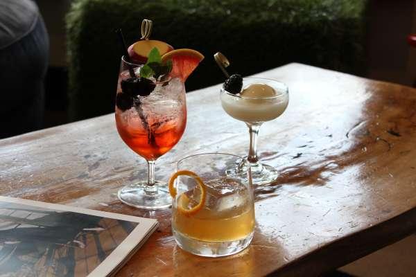 Revolve Kitchen +Bar Space Cocktails