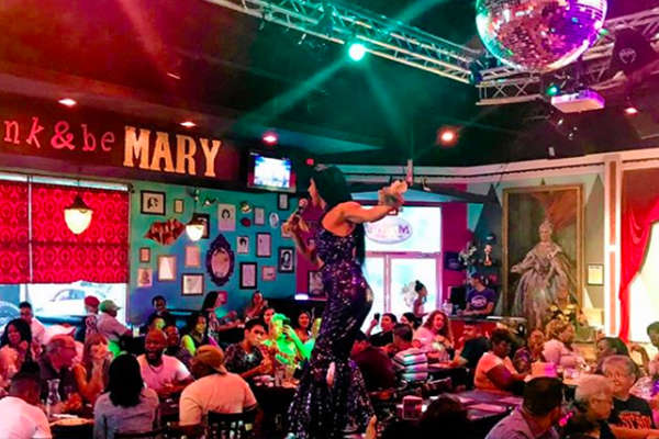 Saturday Drag Brunch at Hamburger Mary's