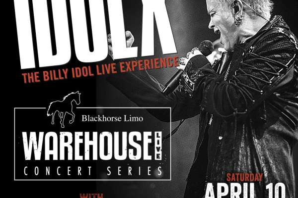 IDOL X - Billy Idol tribute at the Studio at Warehouse Live