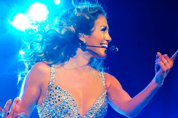 Jennifer Lopez en Toyota Center
