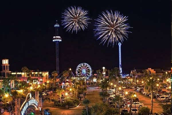 Fourth of July Celebration at Kemah Boardwalk
