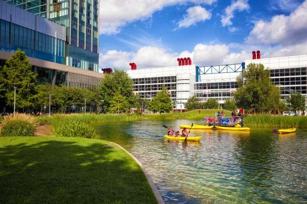 Kayak Rides and R/C Boats