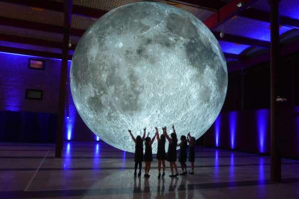 Moon by Luke Jerram