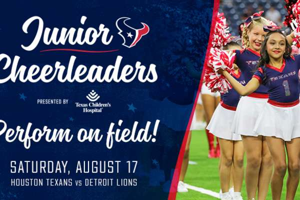 2019 Houston Texans Junior Cheerleaders