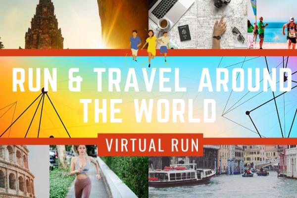 Travel & Virtual Run Around the World 2020