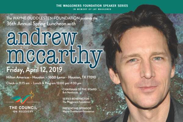 36th Annual Spring Luncheon with Andrew McCarthy