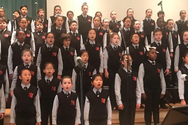 Hosuton Children's Chorus Spring Concert