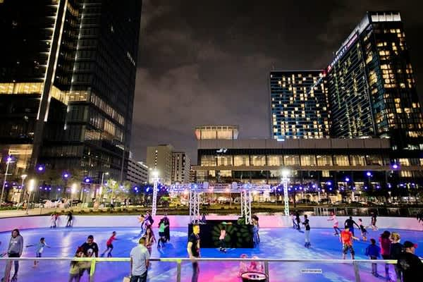 The Rink: Rolling at Discovery Green