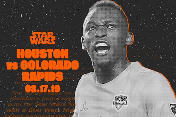 Houston Dynamo vs. Colorado- Star Wars Night
