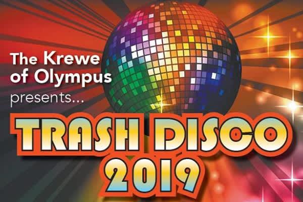 Krewe of Olypus Trash Disco 2019