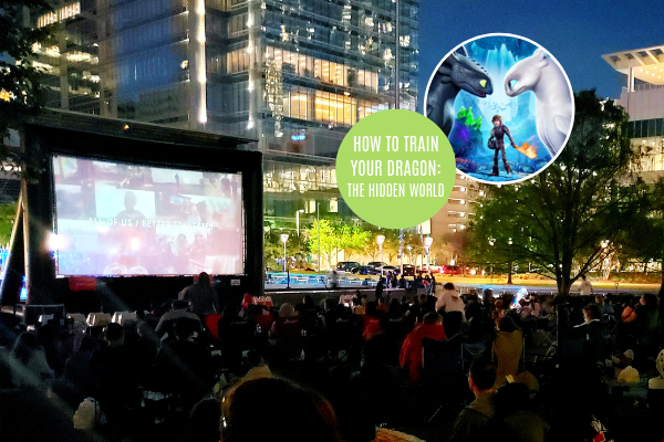 Bank of America Screen on the Green - How to Train your Dragon: The Hidden World