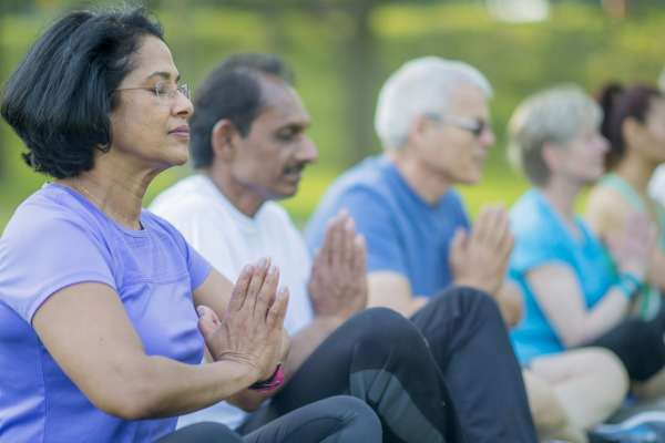 Mindfulness and Aging: The Link between Mind and Body