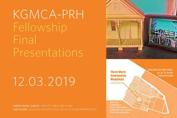 Project Row Houses and the Kathrine G. McGovern College of the Arts Host 2019 Fellowship Final Presentations