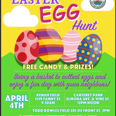 Annual Easter Egg Hunt (Carteret Park)